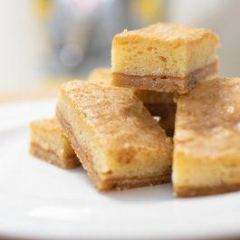Blondies duindoornbes-abrikoos (6 stukjes)