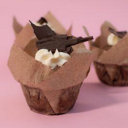 Chocolade muffins (per 2 stuks)
