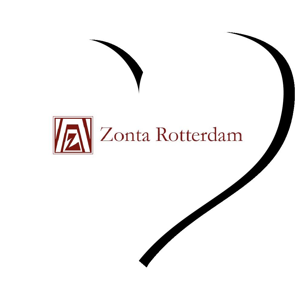 Zonta Rotterdam logo hart