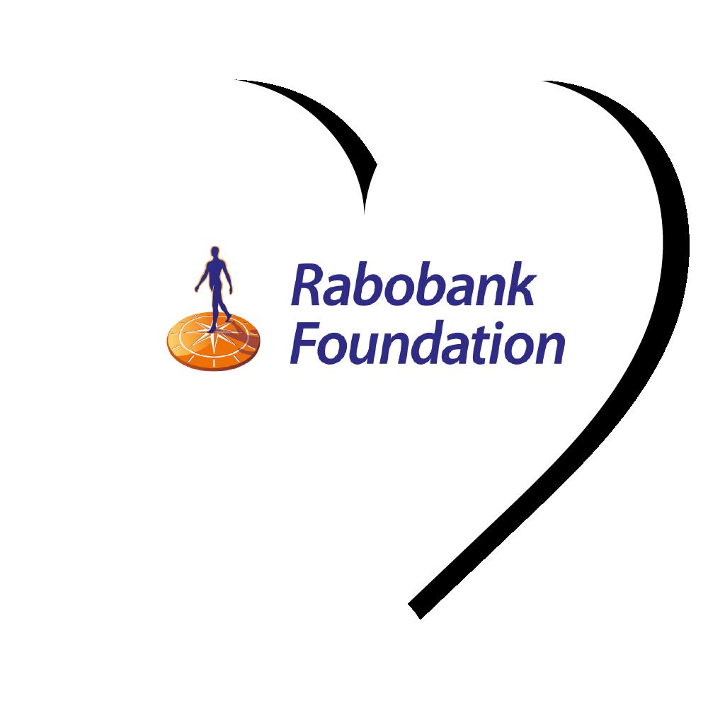 Rabobank Foundation logo hart