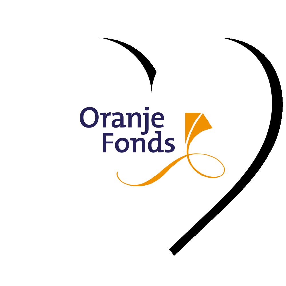Oranje Fonds logo hart