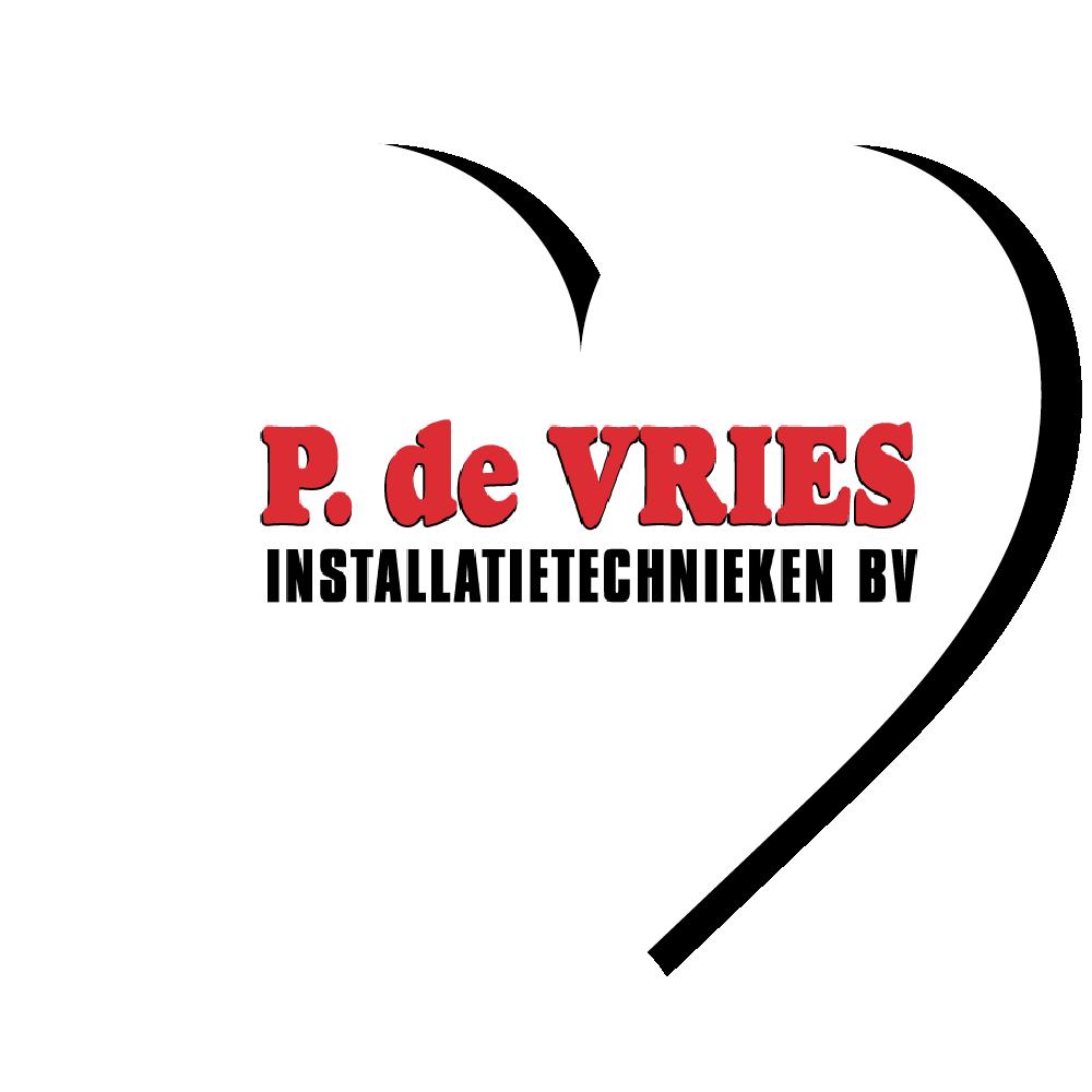P. de Vries logo hart