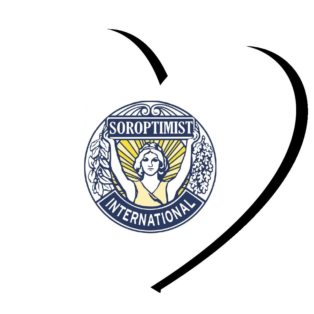 Logo Soroptimisten in hartje